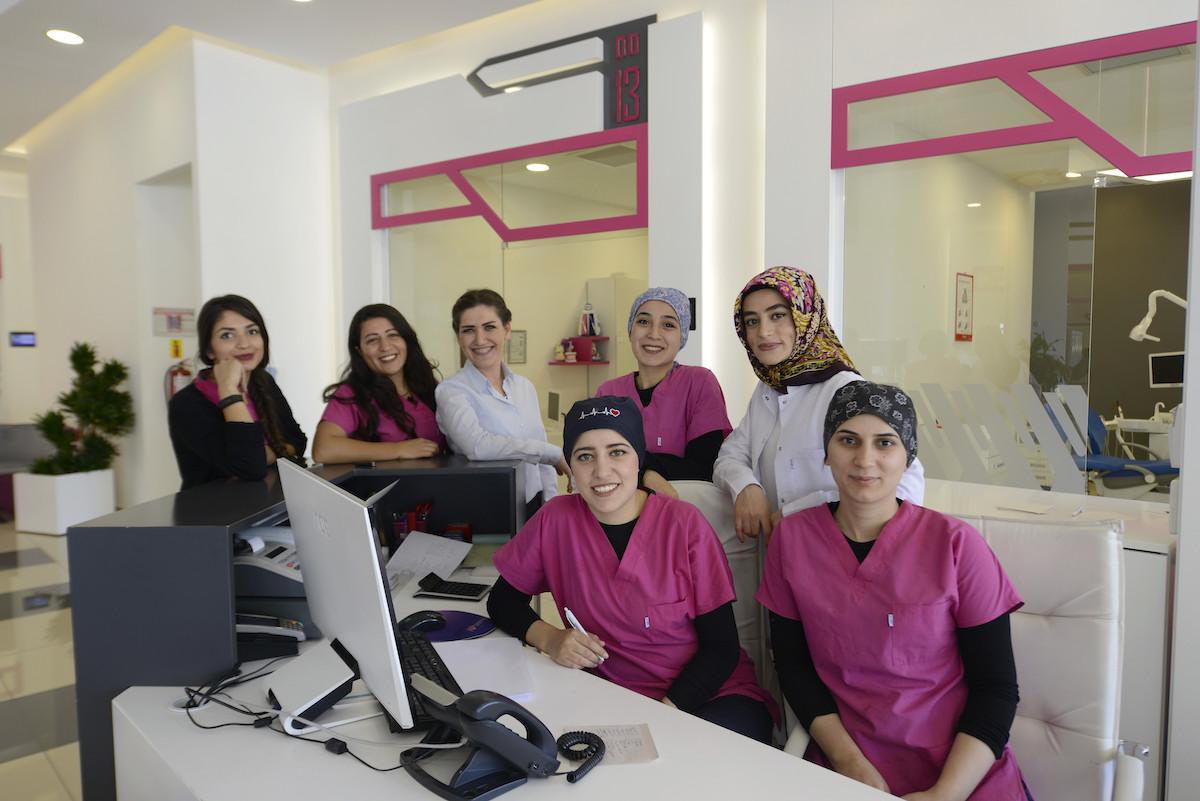 istanbul dentist staff
